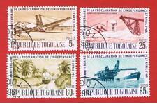 Togo #479-482  VF used  Phosphate   Free S/H