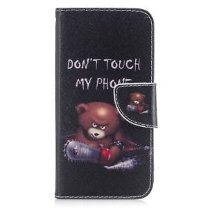 iPhone Wallet Flip Leather Case for iPhone X & Xs Holder Card Slot Magnet Cover
