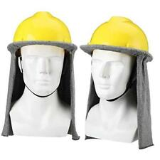 2 Pieces Fr Hard Hat Flame Resistant Hard Hat Liner Neck Shade Sun Cover