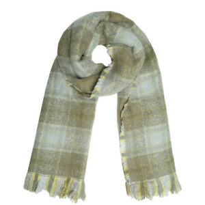 Stylish Large Checked Soft Reversible Scarf Autumn Winter accessories for her