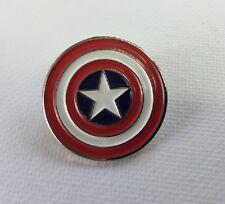 Metallo Smalto Spilla Badge Spilla Captain America Logo Super Hero