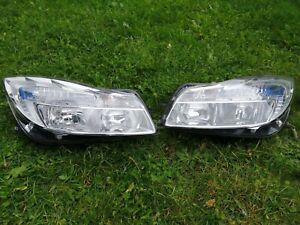 Vauxhall insignia pairof headlights 2013