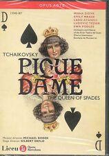 Tchaikovsky Pique Dame The Queen Of Spades DVD NEW Opera Barcelona Misha Didyk