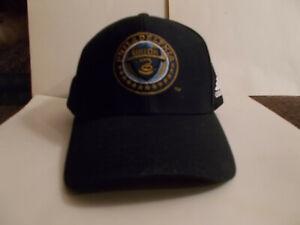 Philadelphia Union Soccer MLS Baseball Cap Hat NEW