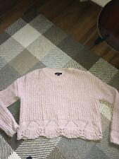age 14/15 blush woolen short jumper
