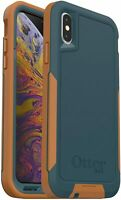 OtterBox Pursuit Series Case for iPhone Xs & iPhone X, Autumn Lake Easy Open Box