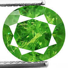 2.16ct 100% Natural earth mined extremely rare green demantoid garnet russia
