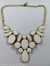 CosMos Handicrafts Partywear White Minha Antique Necklace for Girls/Women