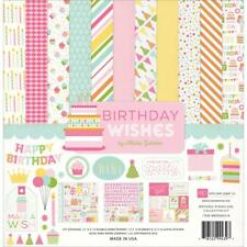 Echo Park ~ BIRTHDAY WISHES ~ Collection Kit ~ 12x12