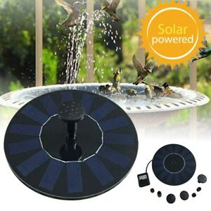 Solar Power Floating Water Fountain Fish Tank Pump Garden Pond Outdoor Pool