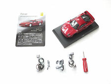 Kyosho 1/64 Ferrari F40 Red Metallic Ferrari Minicar Collection 7 NEO NEW