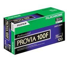5 Rolls Fujifilm RDP-III 120 Fujichrome Provia 100F Film 16326092