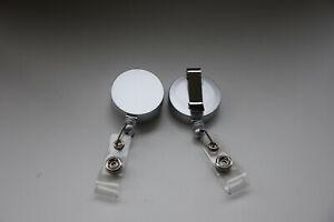 (2,50€/St) 2 Set Schlüsselanhänger Aufrollmechanismus JOJO Gürtelclip Ausziehbar