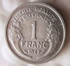 1947 FRANCE FRANC - Collectible Coin - FREE SHIPPING - France Bin #13
