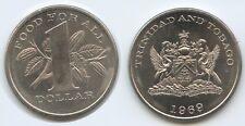 £2800 - Trinidad & Tobago 1 Dollar 1969 KM#6 FAO XF