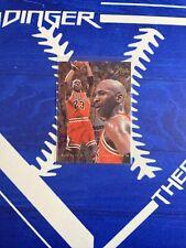 1995-96 FLAIR MICHAEL JORDAN #15 GOAT BULLS