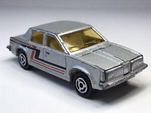 Vintage Majorette France No253 Oldsmobile In Silver Loose