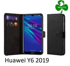 For Huawei Y6 2019 Wallet Leather Case Flip Book Cover Pouch Card Pocket New