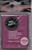 PRO-MATTE BLACKBERRY 50 ULTRA PRO DECK PROTECTOR CARD SLEEVES MTG POKEMON