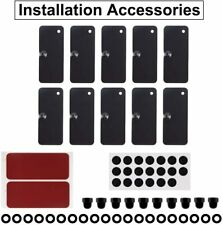 Rear Window Louvers Hardware Installation Accessories for Mustang Challenger