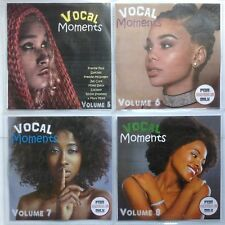 Vocal Moments Volumes 5-8 JUMBO pack 4CDs (5 Hours) Awesome Vocal Reggae 2018