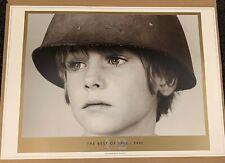 U2. BEST OF U2 1980-1990.  LIMITED EDITION LITHOGRAPH. MINT.