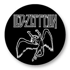"Pin Button Badge Ø25mm 1"" Led Zeppelin Rock UK Led Zep Page Plant"