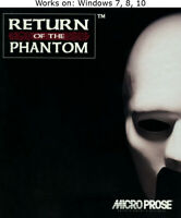 Return of the Phantom PC Game 1993 Windows 7 8 10