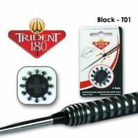 ** Trident 180 - dart point cones - Black, Red, White, Silver (Harrows)