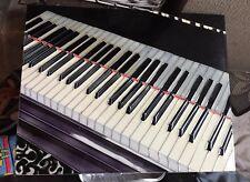 """TASTIERA Pianoforte in porcellana Muro Appeso 14""""x10.5"""""""