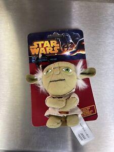 Star Wars Mini Talking Plush ***Yoda*** Key Ring Clip