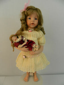 """UFDC 312-2020 Jennifer 20"""" Bisque with baby"""