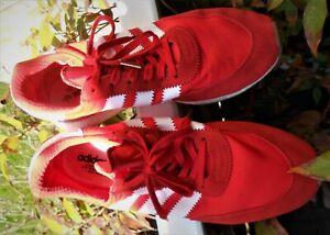 ADIDAS; sneakers, Schuhe, Herren, rot Gr. 48,5