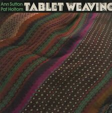 "ANN SUTTON & PAT HOLTOM - ""TABLET WEAVING"" - MAKING BRAIDS WITHOUT A LOOM (1975)"