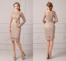 Champagne Vintage Lace Mother of the Bride Dresses Evening Gowns Huge Price Cut