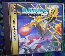 JAPAN Used SS Darius Gaiden mint Sega Saturn
