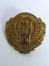 Vintage 10k GM Allison Division 15yr. Service Pin