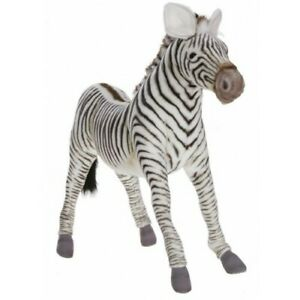 "Hansa Zebra, 26"" Stuffed Animal Plush Toy #5184"