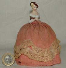 Antique Half Doll Pin Cushion doll