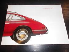 Prospekt Sales Brochure Porsche 901 911 1963 Technische Daten Sportwagen Auto