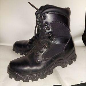 """Rocky Alpha Force 8"""" Tactical Boots Men's 11W EUC"""