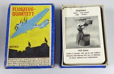 Flugzeug Quartett Antik, Hoffmann Verlag Spear Spiel Luftwaffe 2. WK in OVP