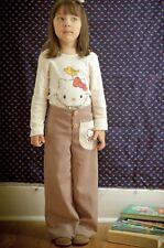 Hello Kitty For Misha Lulu Trousers Size 8 Elastic Waste EUC