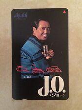 Sadaharu Oh JO coffee Phone Card Japan Japanese Baseball