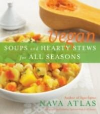 Vegan Soups and Hearty Stews for All Seasons, Atlas, Nava, Good Condition, Book