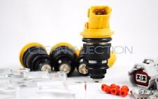 Subaru Phase 1 2 side-feed 555cc fuel injector adapter Legacy impreza WRX ej20g