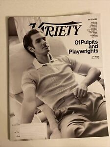 VARIETY MAGAZINE SEPTEMBER 8 2021 ANDREW GARFIELD OF PULPITS AND PLAYWRIGHTS