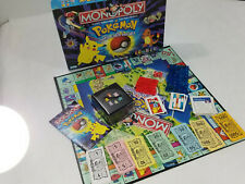 Pokemon Monopoly 1999 Collectors Edition Board Game Complete
