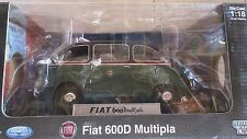 FIAT 600D MULTIPLA TAXI LA MINI MINIERA  1:18 MIB UNIQUE REPLICAS LIMTED EDITION