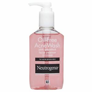 Pink-Grapefruit Facial Cleanser (175ml) From Neutrogena-Oil Free - Free Delivery